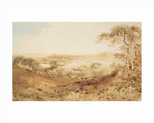Kirkthorpe, Yorkshire, 1804 by John Sell Cotman