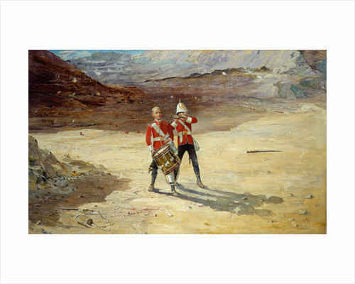 The Drums of the Fore and Aft, 1895 by Edward Matthew Hale