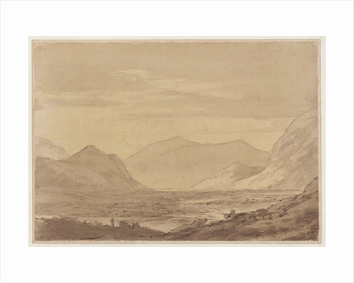 Near Chiavenna by John Robert Cozens