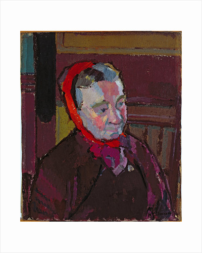 Portrait of Mrs Mounter, 1916-17 by Harold Gilman