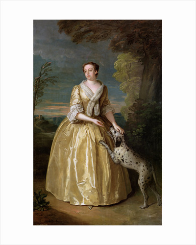 Portrait of Lady Jenkinson, 1742 by Philippe Mercier
