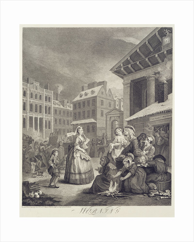 Times of the Day: Morning by William Hogarth