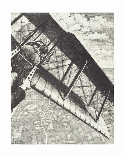 Banking at 4000 feet, c. 1918 by Christopher Richard Wynne Nevinson