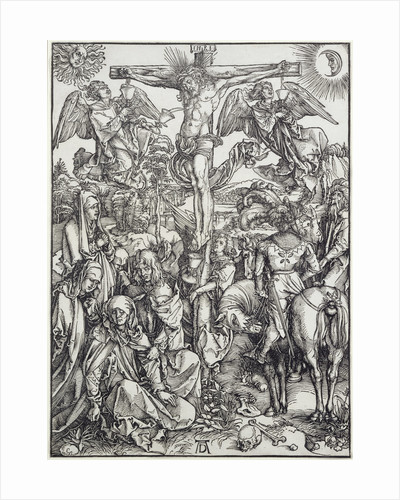 Christ on the Cross by Albrecht Dürer