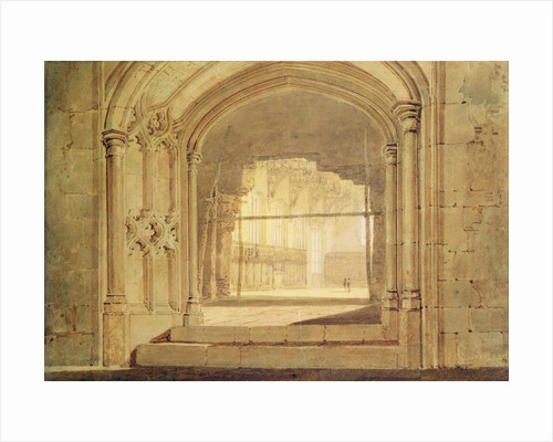 Christchurch Hall, Oxford, c.1800 by Joseph Mallord William Turner