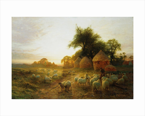 Yon Yellow Sunset Dying in the West by Joseph Farquharson