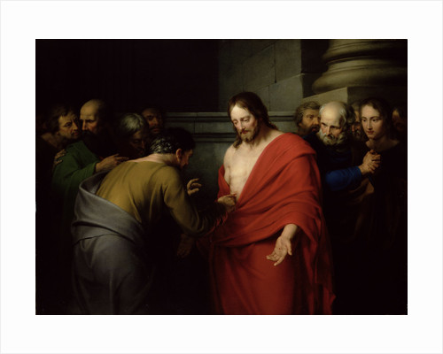 The Incredulity of St. Thomas by Benjamin West