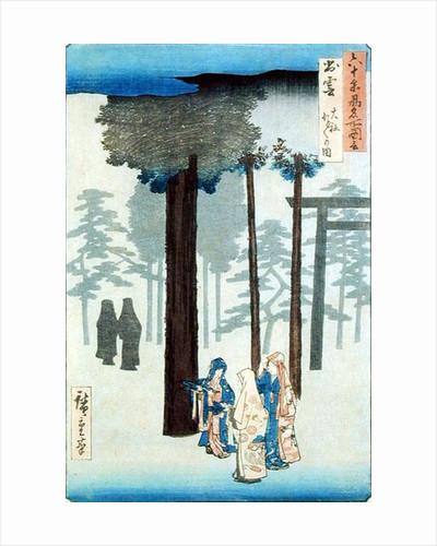 Taisha, Izumo Province by Ando or Utagawa Hiroshige