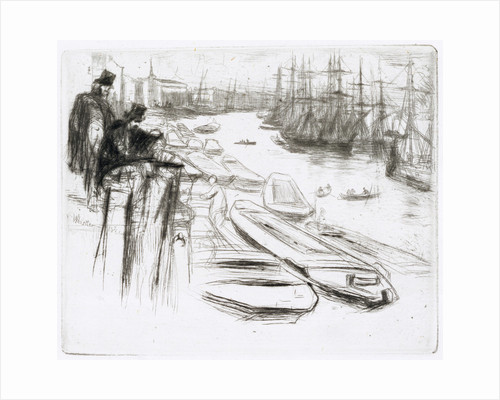 The Little Pool, No.1 by James Abbott McNeill Whistler