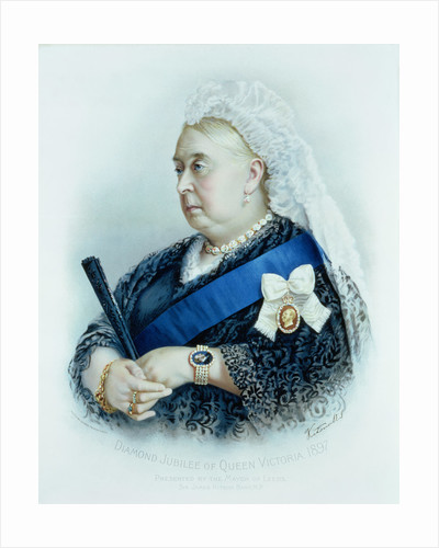Diamond Jubilee of Queen Victoria by English School