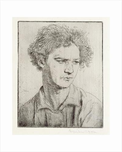 Jacob Epstein by Augustus Edwin John
