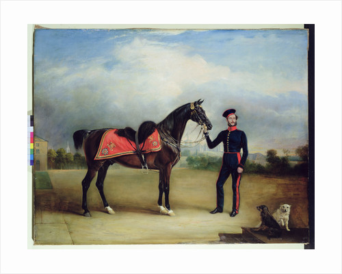 Thomas Oliver Gascoigne of the Royal Horse Guards by English School