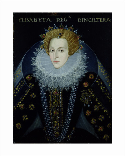 Portrait of Queen Elizabeth I by John the Elder Bettes