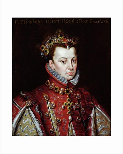 Portrait of Elizabeth de Valois by Alonso Sanchez Coello