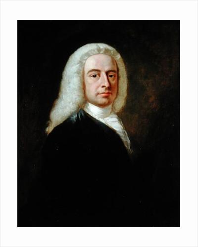 Portrait of Judge Christopher Robinson by Benjamin Wilson
