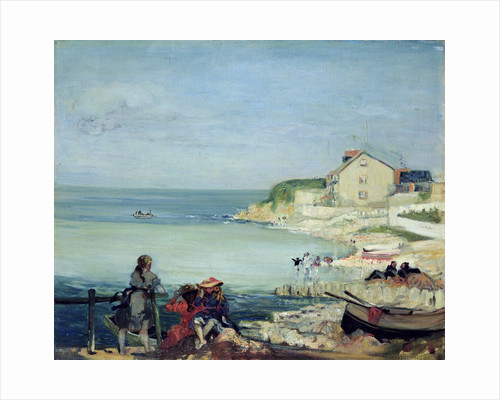 Beach Scene, Swanage by Charles Edward Conder