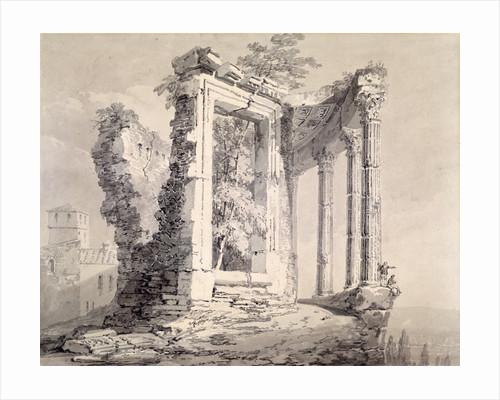 Temple of the Sibyl, Tivoli by Joseph Mallord William Turner