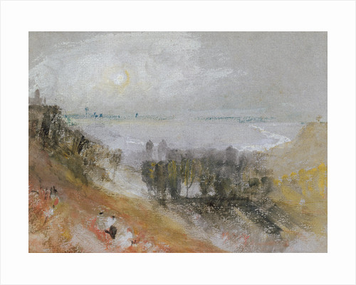 Tancarville, c.1830 by Joseph Mallord William Turner