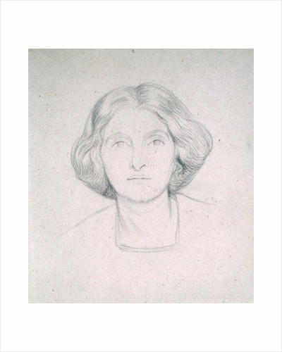 Portrait of Mrs Max Beerbohm, 1915 by Sir William Rothenstein
