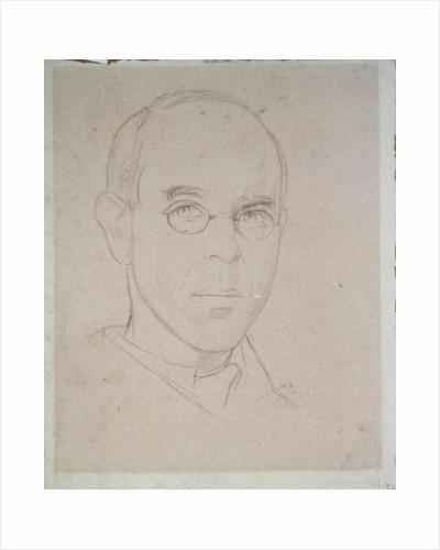 Self Portrait, 1916 by Sir William Rothenstein