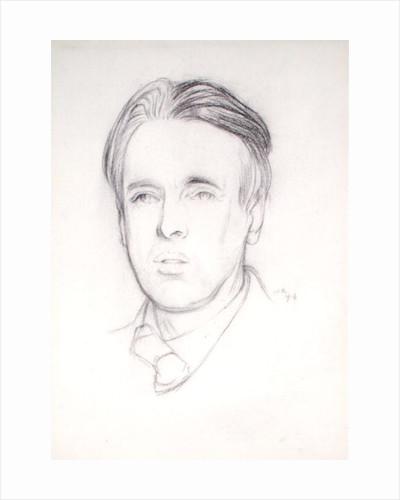 Portrait of W. B. Yeats by Sir William Rothenstein