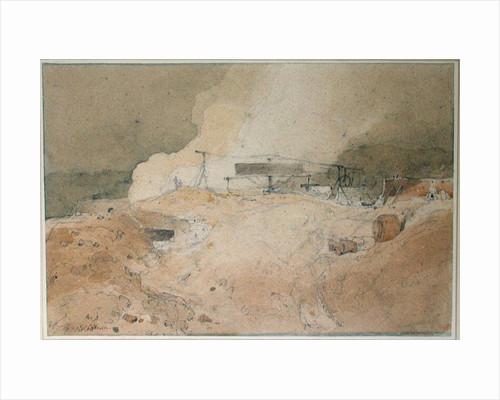 Coalbrookdale, 1802 by John Sell Cotman