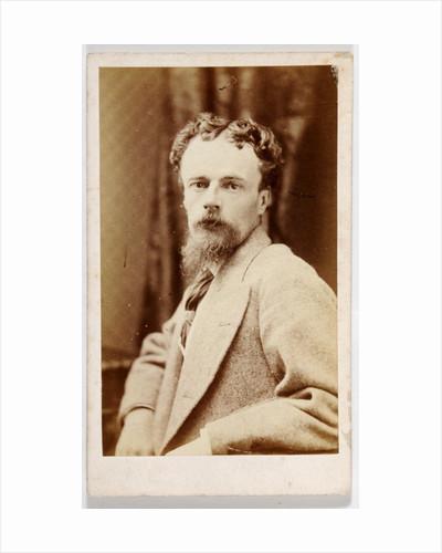 Carte de Visite of John Atkinson Grimshaw by British Photographer
