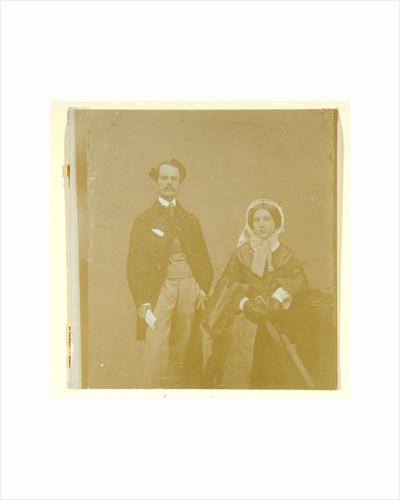 John Atkinson Grimshaw and Theodosia Grimshaw by British Photographer