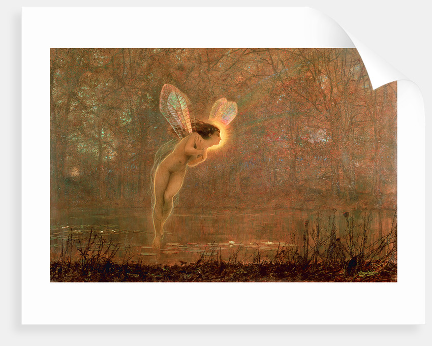 Iris, 1886 by John Atkinson Grimshaw