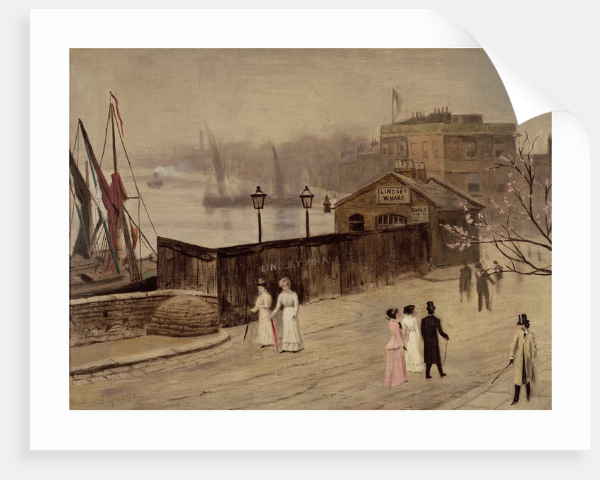 Lindsey Wharf by Walter Greaves
