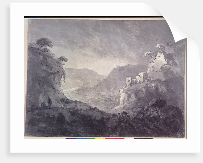 View into a Winding Valley by Rev. William Gilpin