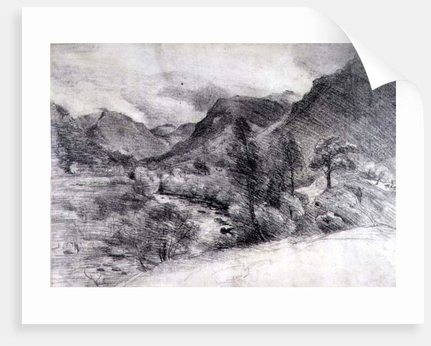 Borrowdale, Morning, c.1806 by John Constable