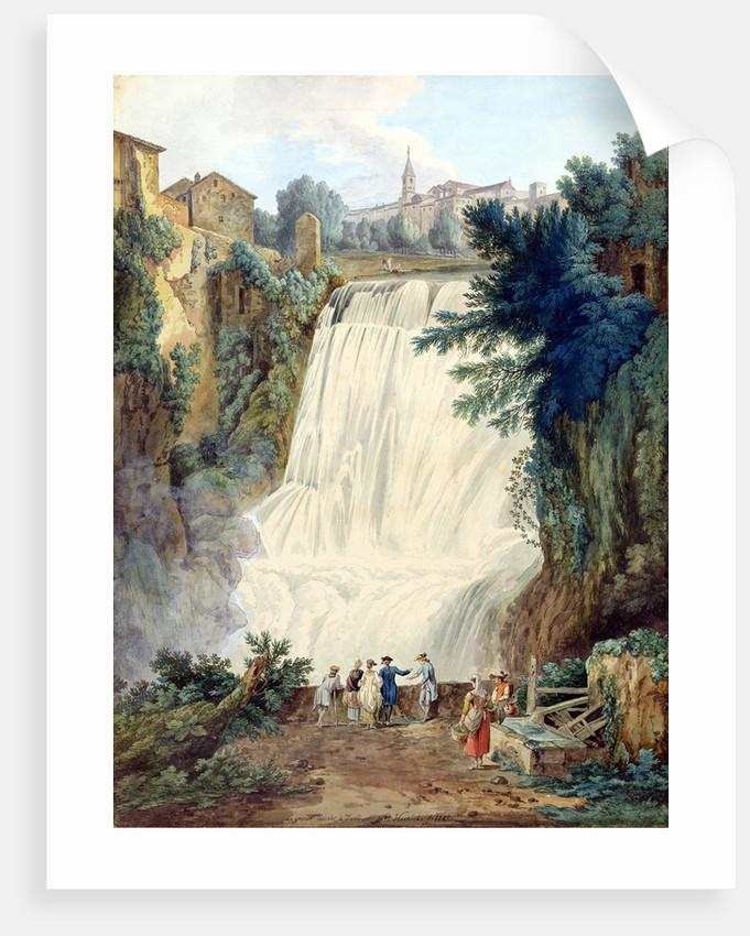 The Falls at Tivoli, 1770 by Jacob-Philippe Hackert