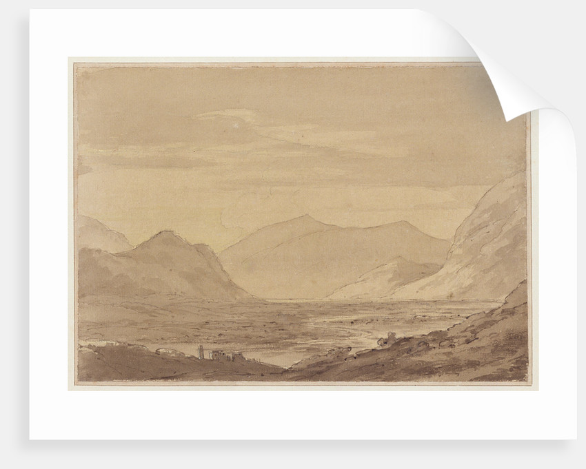 Near Chiavenna by John Robert Cozens