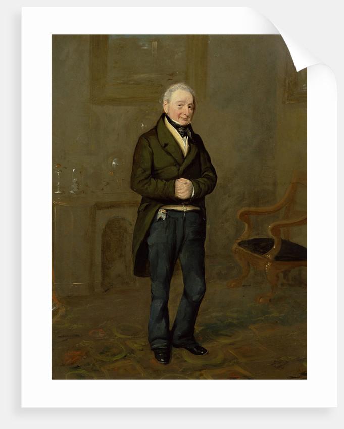 Portrait of a Household Steward of Bramham Park, Yorkshire, identified as John Pollock by George Garrard