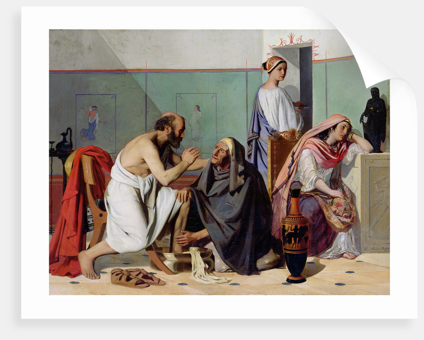 The Return of Ulysses, 1840/53 by Edward Armitage