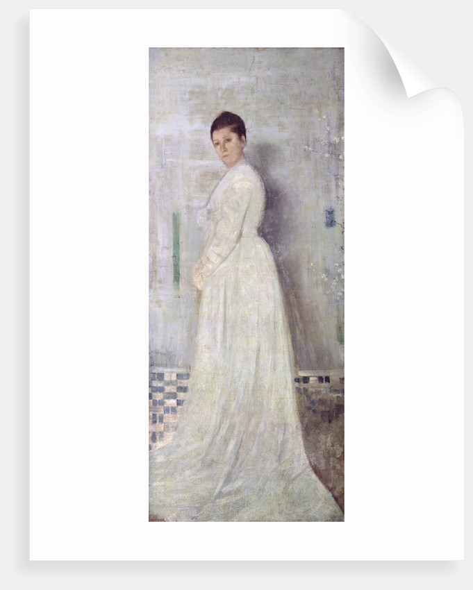 Harmony in White and Blue, c.1860 by James Abbott McNeill Whistler