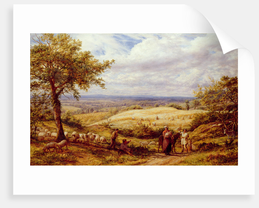 The Wayfarers, c.1872 by James Thomas Linnell