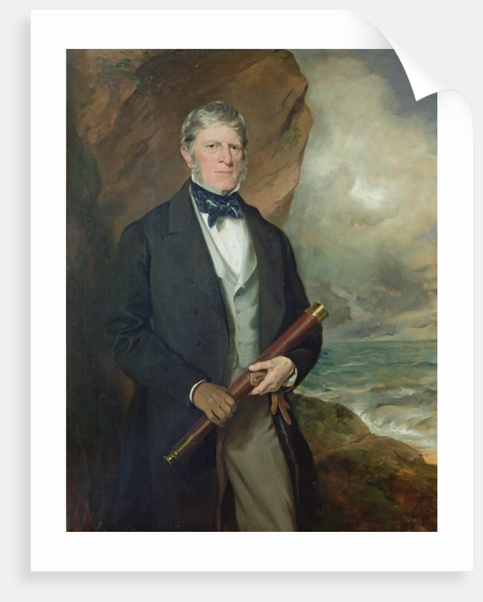 Portrait of Admiral Meynell by Sir Francis Grant