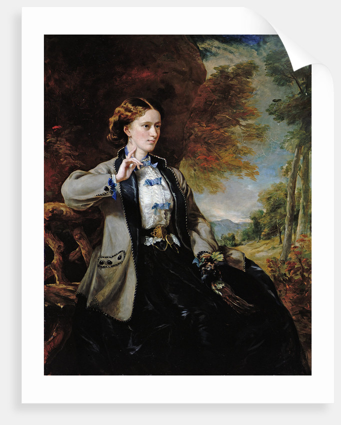 Portrait of the Hon. Mrs Meynell-Ingram by Sir Francis Grant