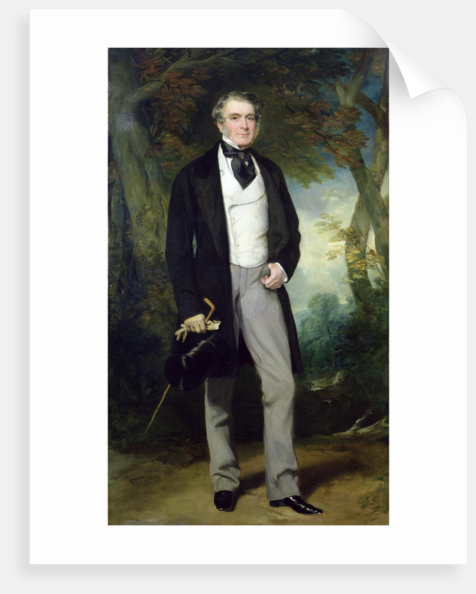 Portrait of William Beckett by Sir Francis Grant