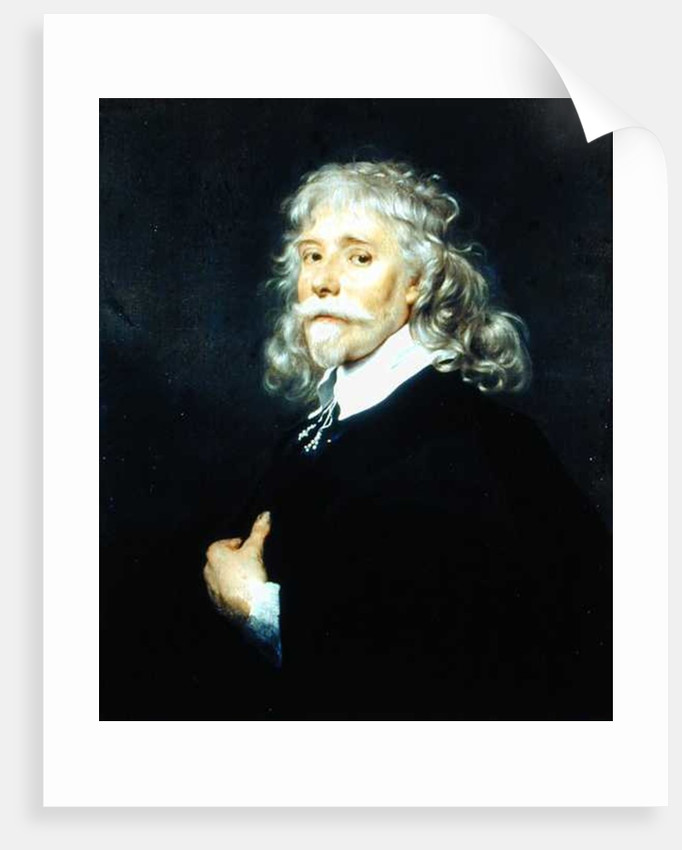 Portrait of a Man with Grey Hair by Adriaen Hanneman