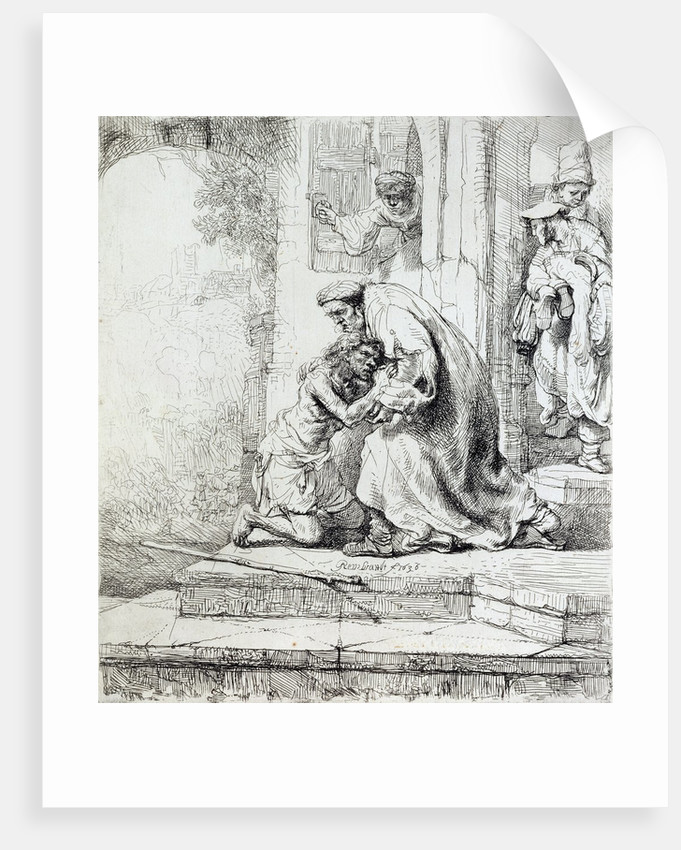 Return of the Prodigal Son by Rembrandt Harmensz. van Rijn