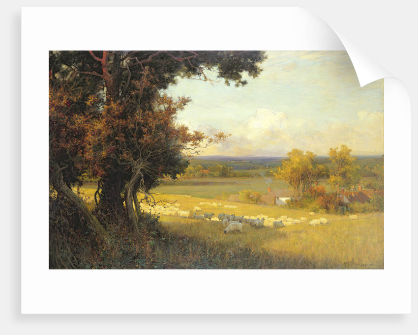 The Golden Valley by Sir Alfred East