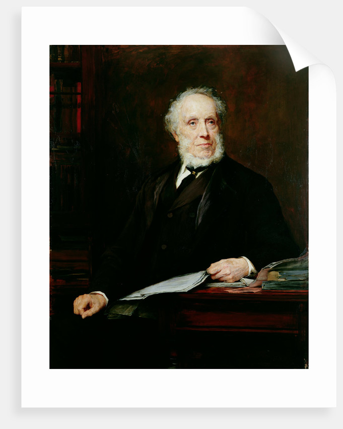 Portrait of Sir Edward Baines by Walter William Ouless