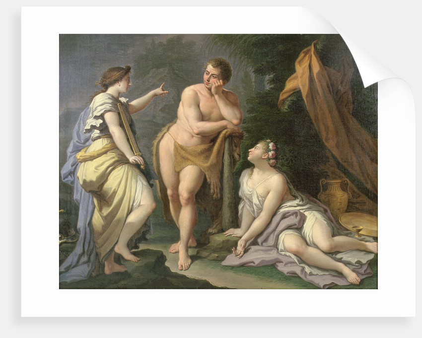 The Choice of Hercules by Paolo di Matteis