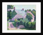 Dunn's Cottage by Robert Polhill Bevan