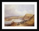 Ehrenbreitstein and Koblenz from the Heights of Pfaffendorf, 1839 by William Callow