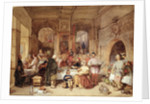 Dinner in the Great Hall by George Cattermole