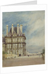 Pavillon de Flore, Tuileries, Paris by David Cox